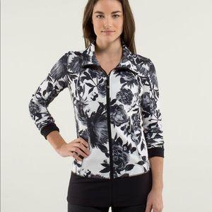 Lululemon Nice Asana Jacket Brisk Bloom 8